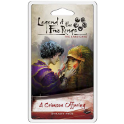 FFG - Legend of the Five Rings LCG: A Crimson Offering Dynasty Pack - EN