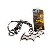 DC Comics - Batman Shaped Logo Keychain (black)