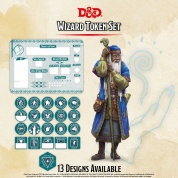 D&D - Wizard Token Set
