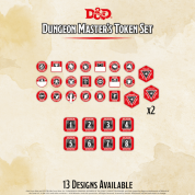 D&D - Dungeon Master's Token Set