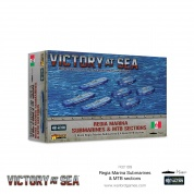 Victory at Sea - Regia Marina Submarines & MTB sections - EN