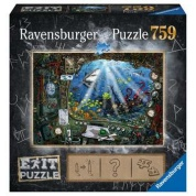 Ravensburger EXIT Puzzle - Im U-Boot - 759pc - DE/NL/SP/FR/IT/EN