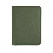 UP - Zippered Suede 4-Pocket Premium PRO-Binder - Emerald
