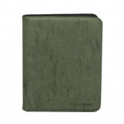 UP - Zippered Suede 9-Pocket Premium PRO-Binder - Emerald