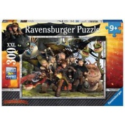 Ravensburger Children's Puzzle - How to Train your Dragon Treue Freunde - 300pc - DE/EN