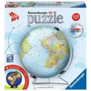 Ravenburger 3D Puzzle-Ball - Globus - 540pc - DE