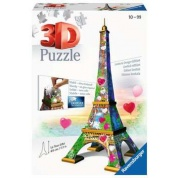 Ravensburger 3D Puzzle - Eiffelturm Love Edition - 216pc - DE/EN