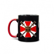 Official Resident Evil Pin Badge Mug