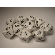 Chessex Speckled Polyhedral Ten d10 Set - Arctic Camo