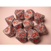 Chessex Speckled Polyhedral Ten d10 Set - Granite