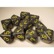 Chessex Speckled Polyhedral Ten d10 Set - Urban Camo