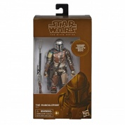Star Wars The Black Series Carbonized Collection The Mandalorian Toy 6-inch Scale Action Figure