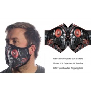 Wild Bangarang Face Mask - DESTROYER Size M