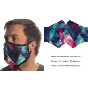 Wild Bangarang Face Mask - COSMIC SPACE Size M