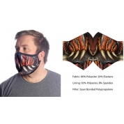 Wild Bangarang Face Mask - DRAGON SLAYER Size L