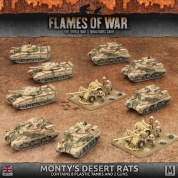 Flames Of War - Monty's Desert Rats - EN