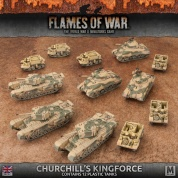 Flames Of War - Churchill's Kingforce Army Deal - EN