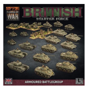 Flames Of War - British LW Armoured Battlegroup Army Deal - EN