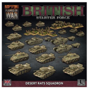 Flames Of War - British Starter Force: Desert Rats Squadron - EN