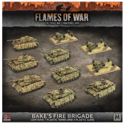 Flames Of War - Bäke's Fire Brigade Army Deal - EN