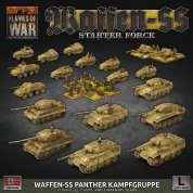Flames Of War - D-Day: German LW SS Panther Kampgruppe Army Deal - EN