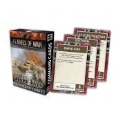 Flames Of War - Afrika Korps Command Cards - EN