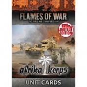 Flames Of War - Afrika Korps Unit Cards - EN