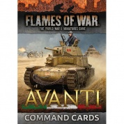 Flames of War - Avanti Command Cards - EN