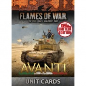 Flames of War - Avanti Unit Cards - EN