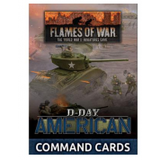 Flames of War - D-Day: American Command Cards - EN