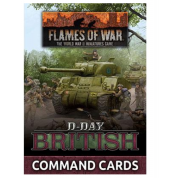 Flames of War - D-Day: British Command Cards - EN