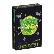 Number 1 Spielkarten - Rick & Morty im Display (12 Stck) - DE