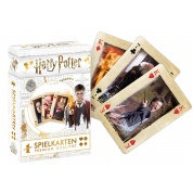 Number 1 Spielkarten - Harry Potter im Display - Weiß neu (12) - DE