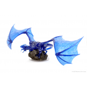 D&D Icons of the Realms: Sapphire Dragon Premium Figure