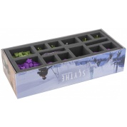 Feldherr foam tray for Scythe expansion Invaders from Afar with 14 compartments