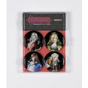 Castlevania Symphony of the Night Magnet 4-Pack