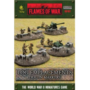 Battlefield In A Box - Log Emplacements - Dug In Markers
