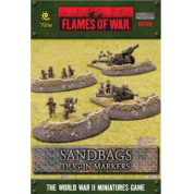 Battlefield In A Box - Sandbags - Dug In Markers