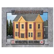 Battlefield In A Box - Municipal Building (x1) - WWII 15mm