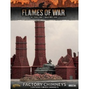 Battlefield in a Box - Chimneys (x4 resin pieces)
