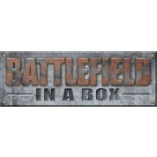 Battlefield In A Box - Badlands Pillars - Brown (x5) - 30mm