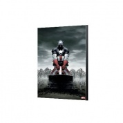 Captain America 4 Wood Panel - Avengers Collection