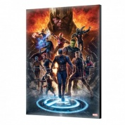 Marvel Art Gallery Wood Panel - Avengers Endgame