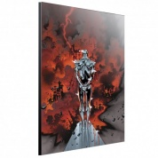 Marvel Art Gallery Wood Panel - Silver Surfer