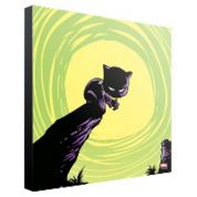 Marvel Art Gallery Wood Panel - Black Panther