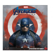 Marvel - Captain America Deluxe Bust Bank