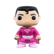 Funko POP! Breast Cancer Awareness - Superman Vinyl Figure 10cm