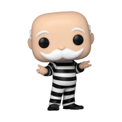 Funko POP! POP Vinyl: Monopoly - Mr. Monopoly In Jail Vinyl Figure 10cm