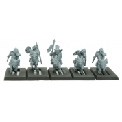 Warlords of Erehwon - Halfling Goat Riders with Spears - EN