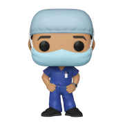 Funko POP! Heroes: Front Line Worker- Male #1 Vinyl Fígure 10cm